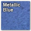 metallic blue color swatch