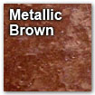 metallic brown color swatch