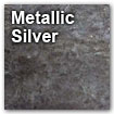 metallic silver color swatch